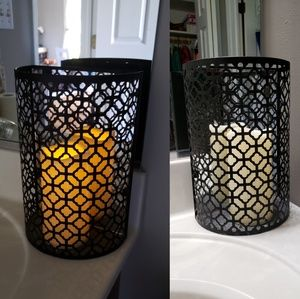 Other - (1) Trellis candle decor